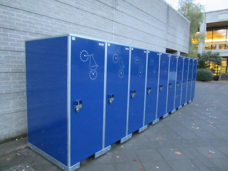 BikeLocker.ie Colour Blue 10