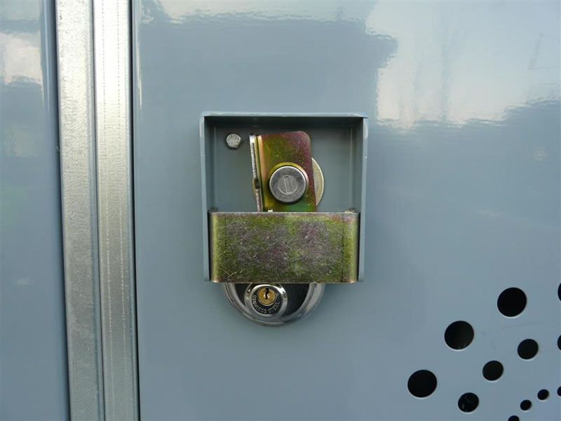 BikeLocker.ie Dual Lock System