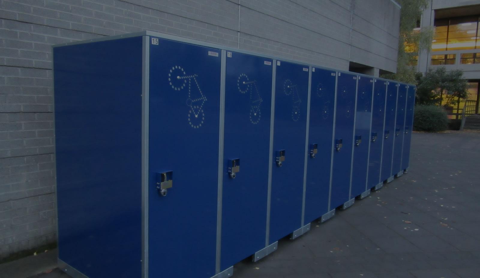 BikeLocker.ie Installation at UCD